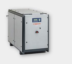Vitobloc. Когенерационные установки электрической мощностью: 50 - 402 кВт, тепловой мощностью: 82 - 563 кВт.