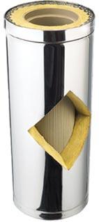 Schiedel Kerastar Нержавеющая сталь снаружи - керамика внутри