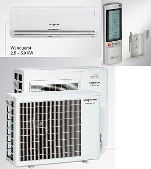 Vitoclima 300-S Single-сплит кондиционеры мощность 5,0 кВт (нагрев 6,0 кВт).