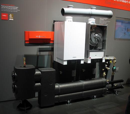 Многокотловая установка Viessmann Vitodens 200-W мощностью до 840 кВт.