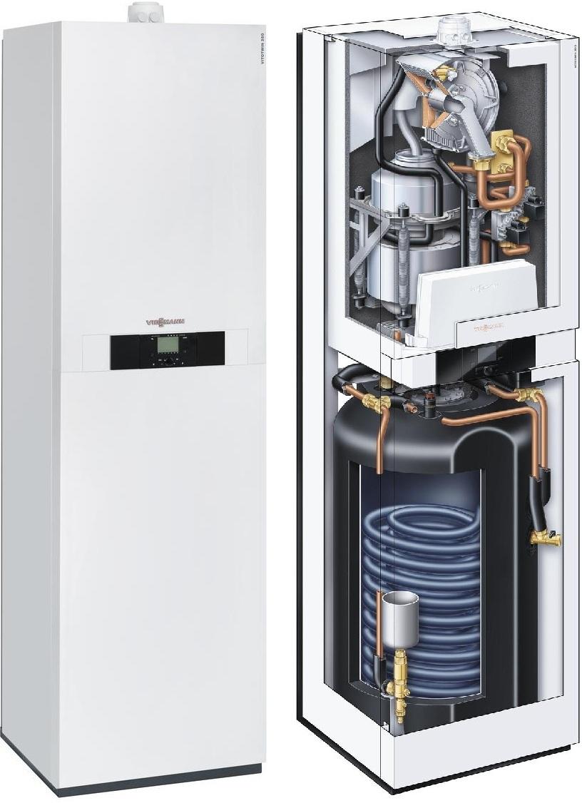 Когенерационная установка VITOTWIN 350-F с двигателем Стирлинга