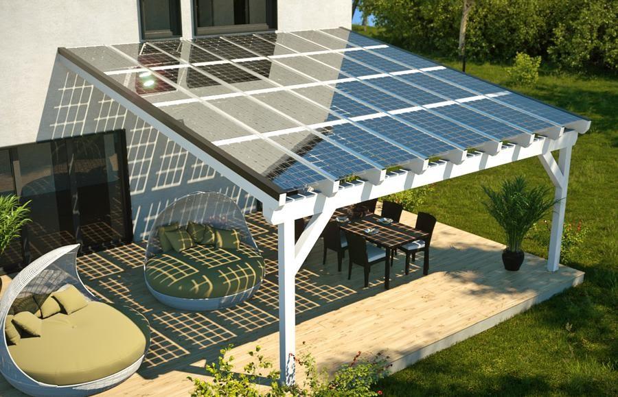 Бескаркасные солнечные панели  Luxor SECURE LINE FRAMELESS M60/300 W для солнечных навесов