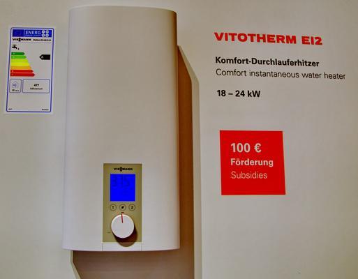 проточные водонагреватели Vitotherm