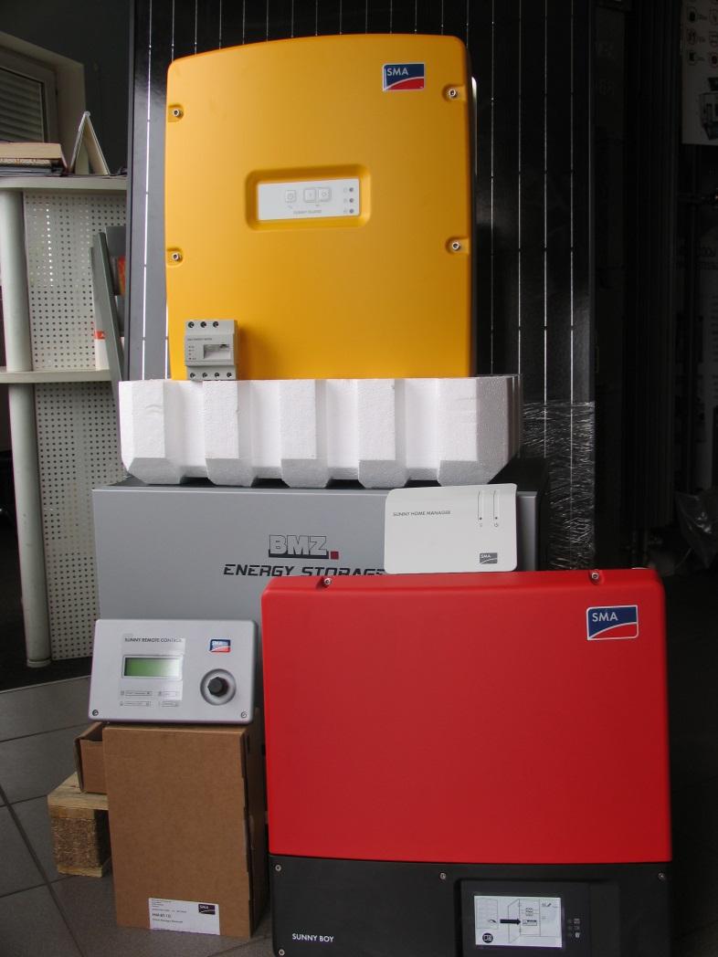 Комплект фотогальванических панелей Viessmann Vitovolt 300 + Система SMA Flexible Storage System With Backup