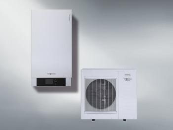 Реверсивный тепловой насос воздух/вода Vitocal 100-S класса энергоеффективности А++