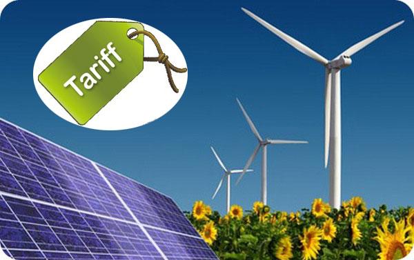 Новые тарифы на солнечную и ветровую энергию для частных домохозяйств