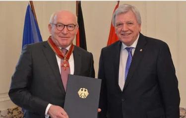 Награждение главы компании Viessmann