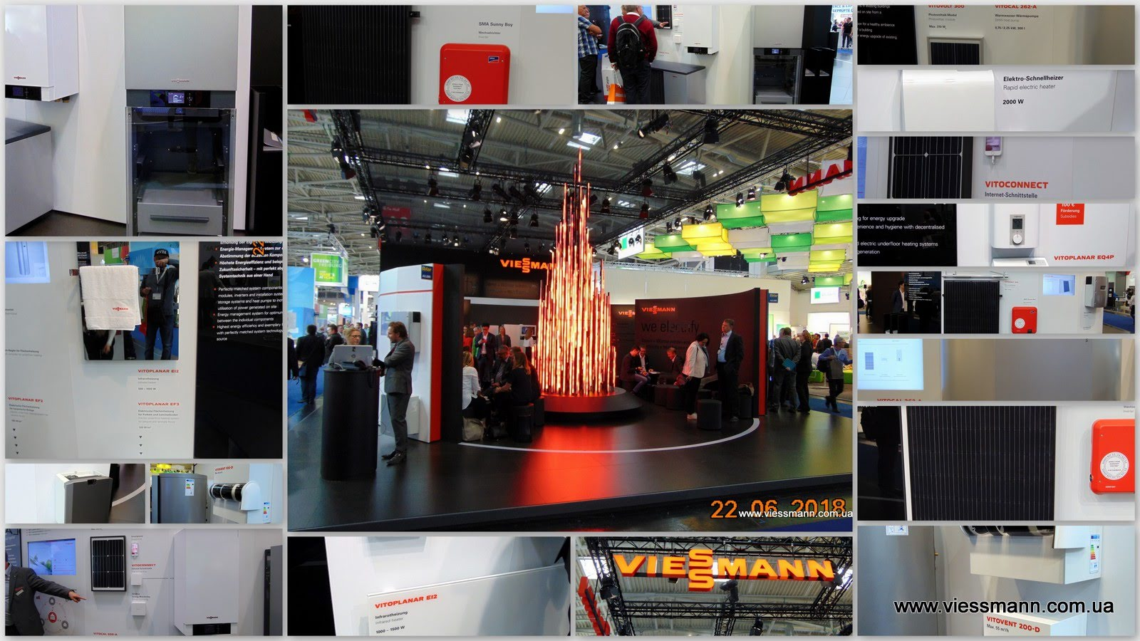 Компания «Viessmann» на INTERSOLAR- 2018