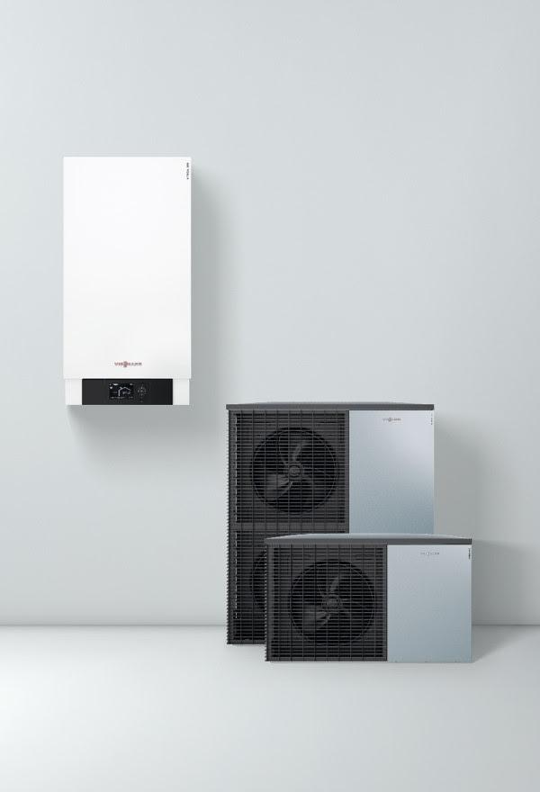 Преимущества теплового насоса (сплит-система) Vitocal 200-S от Viessmann
