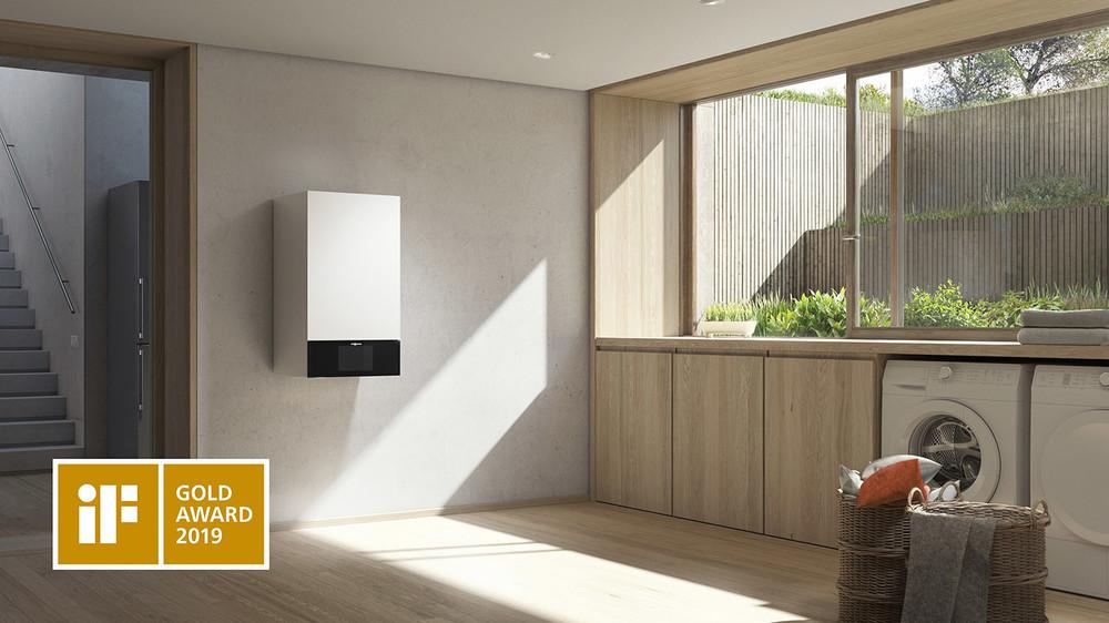 Награда IF Gold Design Award за новый Viessmann Vitodens 300-W