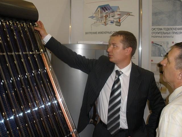 Презентация солнечного коллектора Viessmann Vitosol 300 T