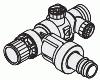 Сборка предохранительных устройств по DIN 1988 (Ду 15), для углового исполнения