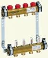 Распределительный коллектор для систем напольного отопления с расходомерами