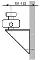 Стеновое крепление для распределительного коллектора