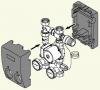 Подмешивающее устройство к Vitoligno 100-S мощностью 25- 30 кВт