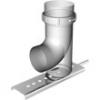 Опорный отвод для гофрированной трубы