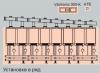 Vitodens 200, восьмикотловая установка (в ряд)