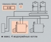 Котел Vitoplex 100 PV1 c контроллером Vitotronic 100/300-К