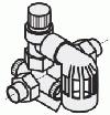Сборка предохранительных устройств по  DIN 1988 (Ду 15)
